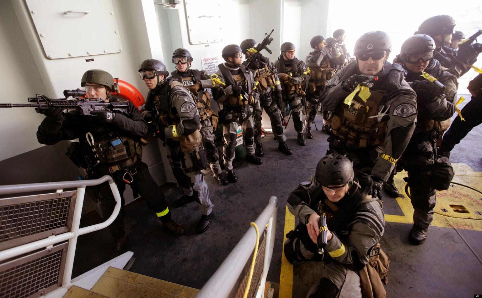 Universities Secretive Swat Teams Are Being Trained By Israeli Swat
