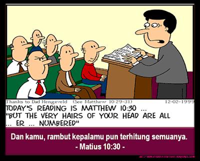 matius matthew 10 30