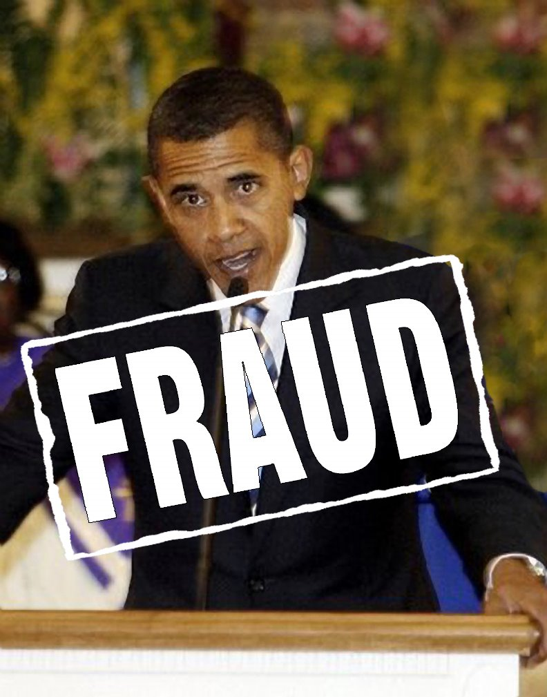obama is a fraud 