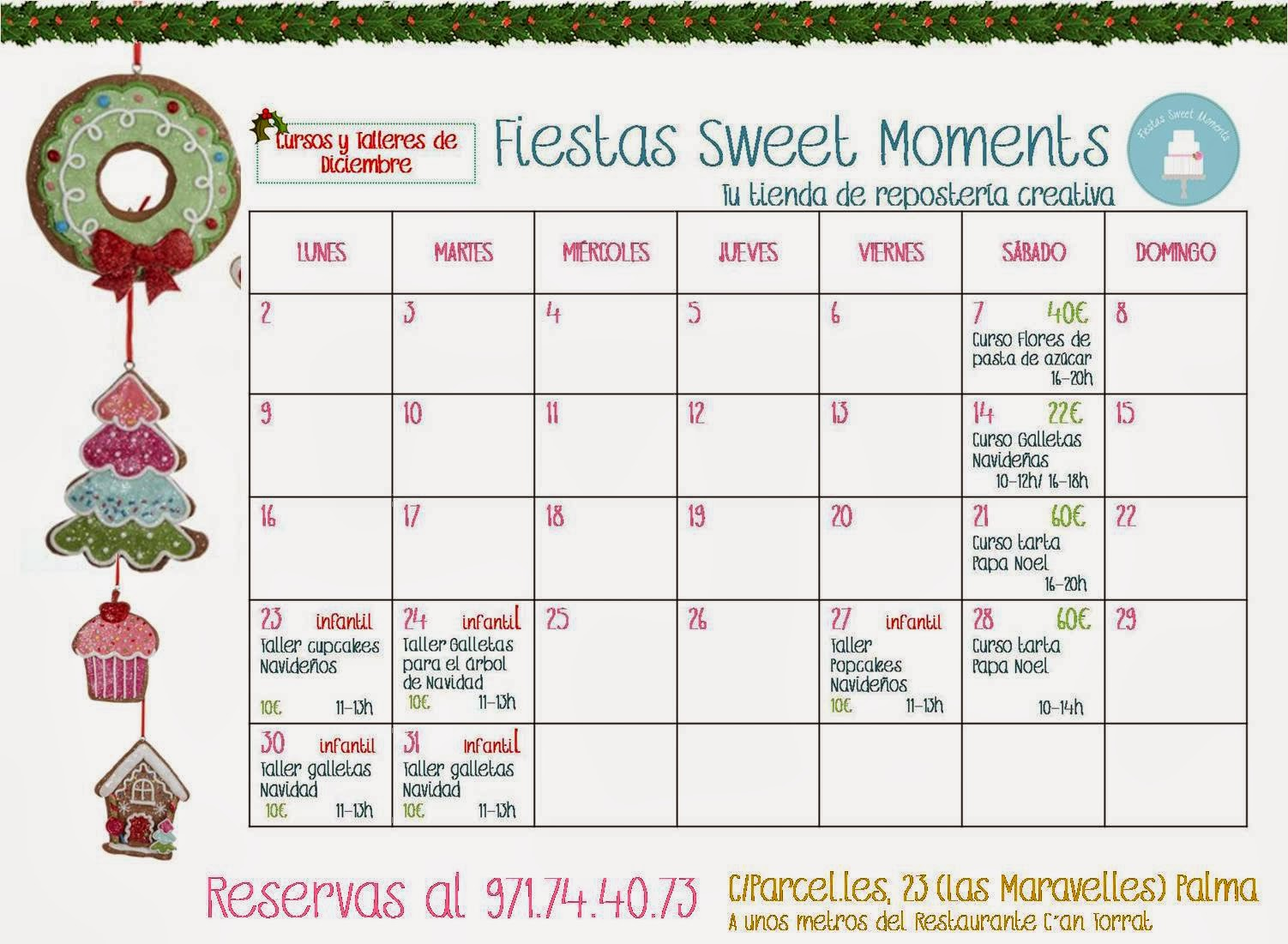 Cursos mes de diciembre
