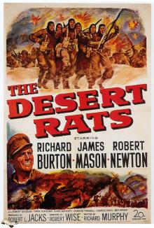 RATOS DO DESERTO - THE DESERT RATS - 1953