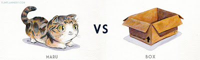 maru vs box1 Versus series by Bill Robinson