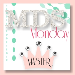 Click the badge to see where my butterfly card was picked for the MDS Monday Challenge!