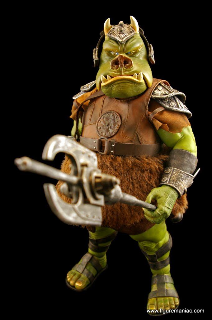 Sideshow star wars gamorrean guard part 2 figure maniac - Star wars gamorrean guard ...