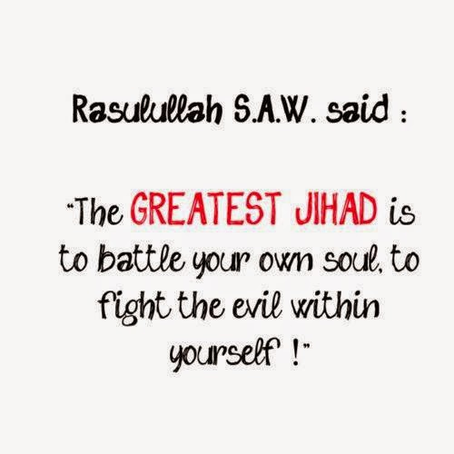 QUOTES THE GREATEST JIHAD