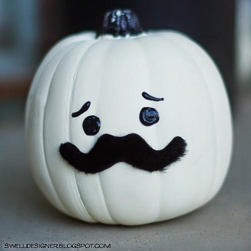 http://www.theswelldesigner.com/2012/09/mustache-pumpkin-diy-tutorial.html