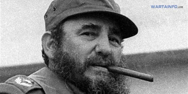 Foto gambar Fidel Castro Presiden Kuba yang Menjabat Paling terlama di dunia