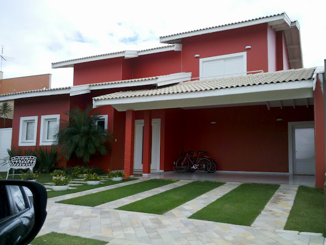 Simples mais belo cores para fachada de casa for Fachadas de casas modernas em belo horizonte