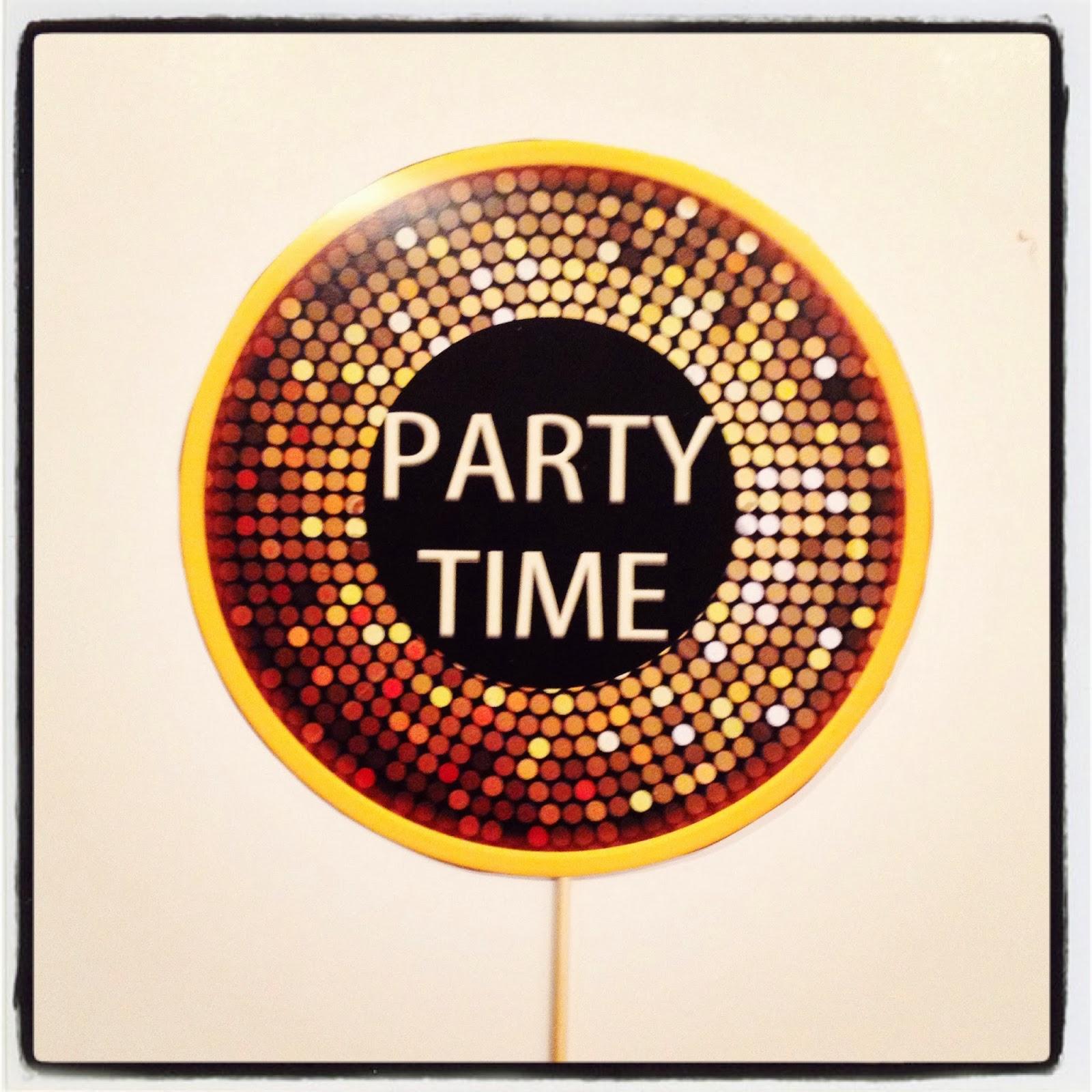 Disko topu zeminli parti zamanı kartı