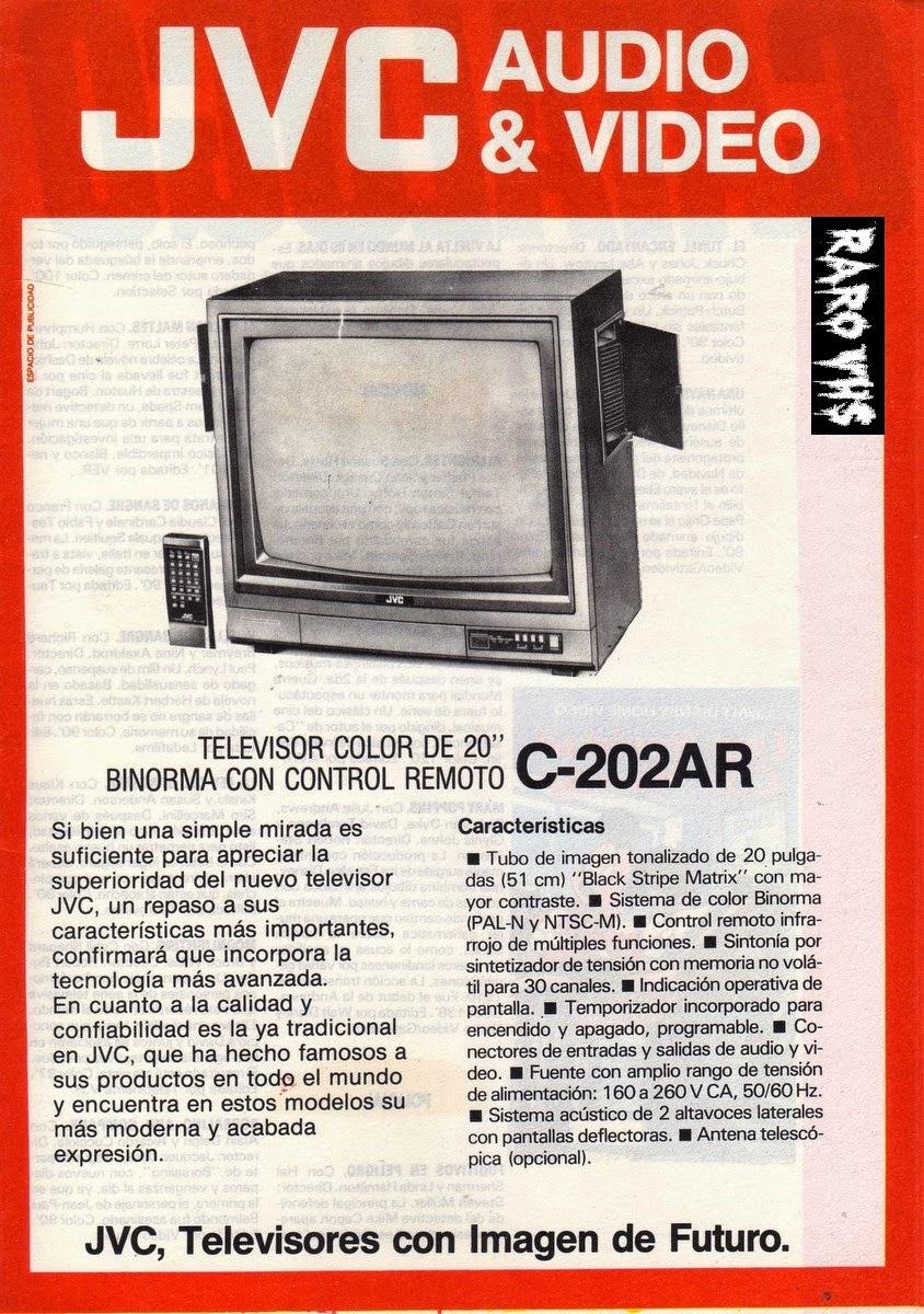 jvc television color 20 pulgadas