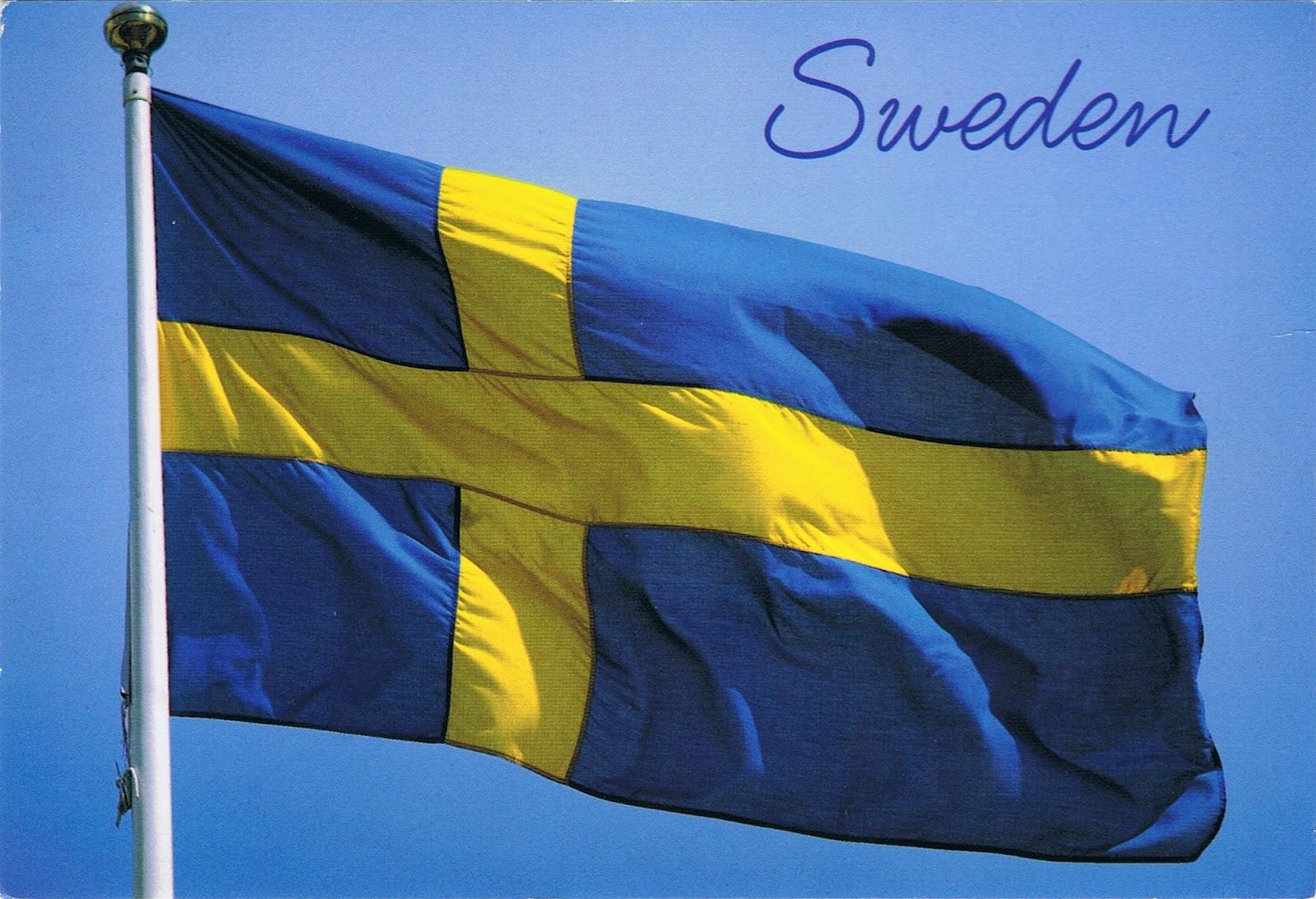 Znalezione obrazy dla zapytania szwecja flaga