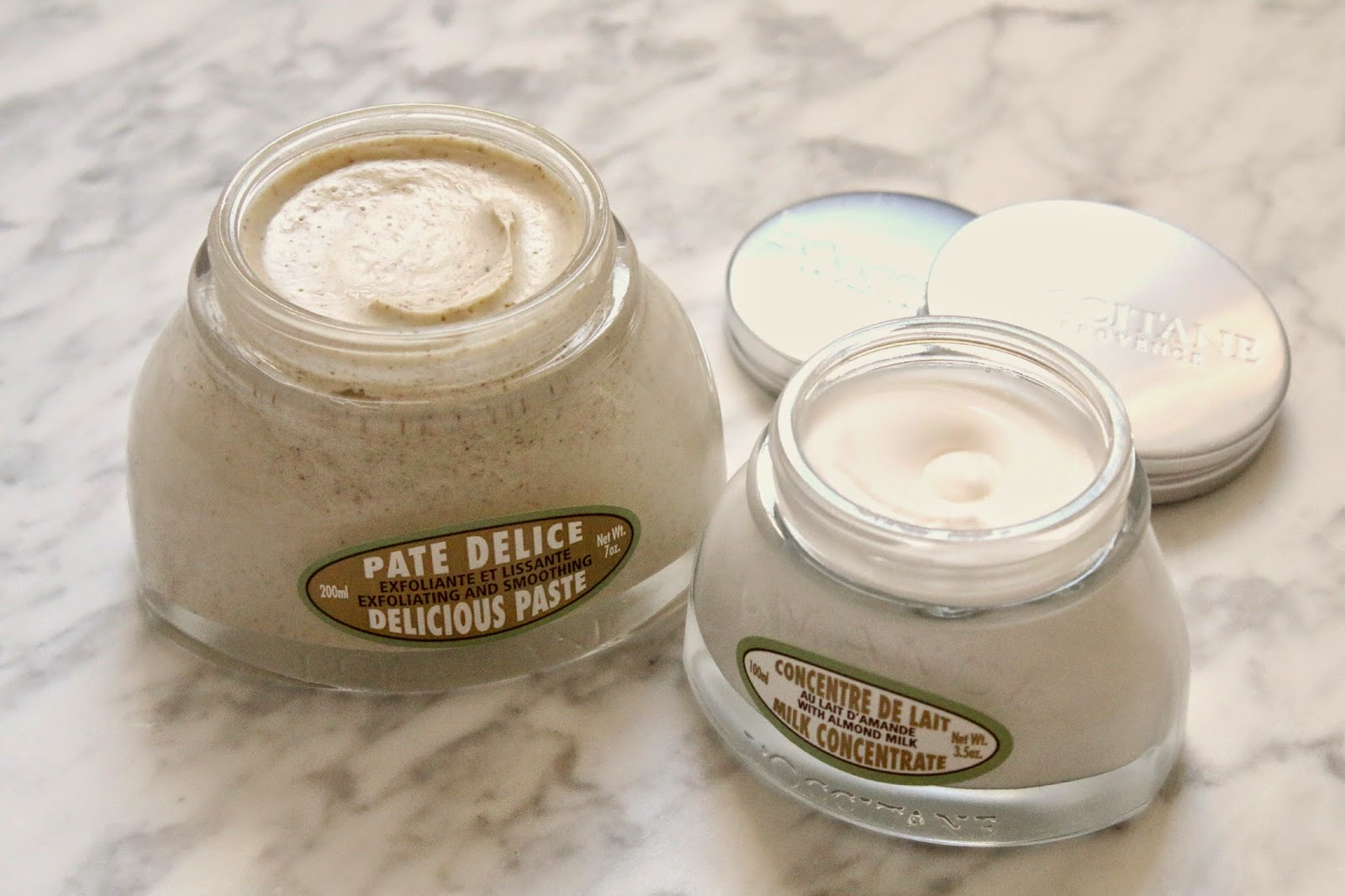 L'Occitane Almond Delicious Paste and Milk Concentrate review
