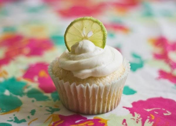 Cinco de Mayo Tequila Lime Margarita cupcakes