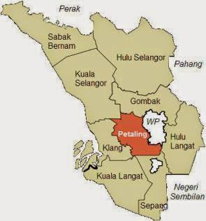 Peta Selangor