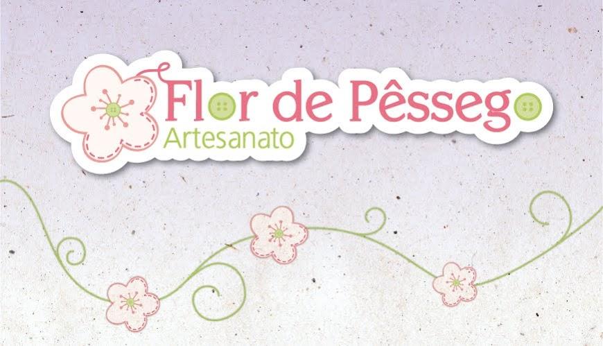 Flor de Pêssego Artesanato