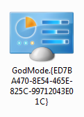 Icono de God Mode