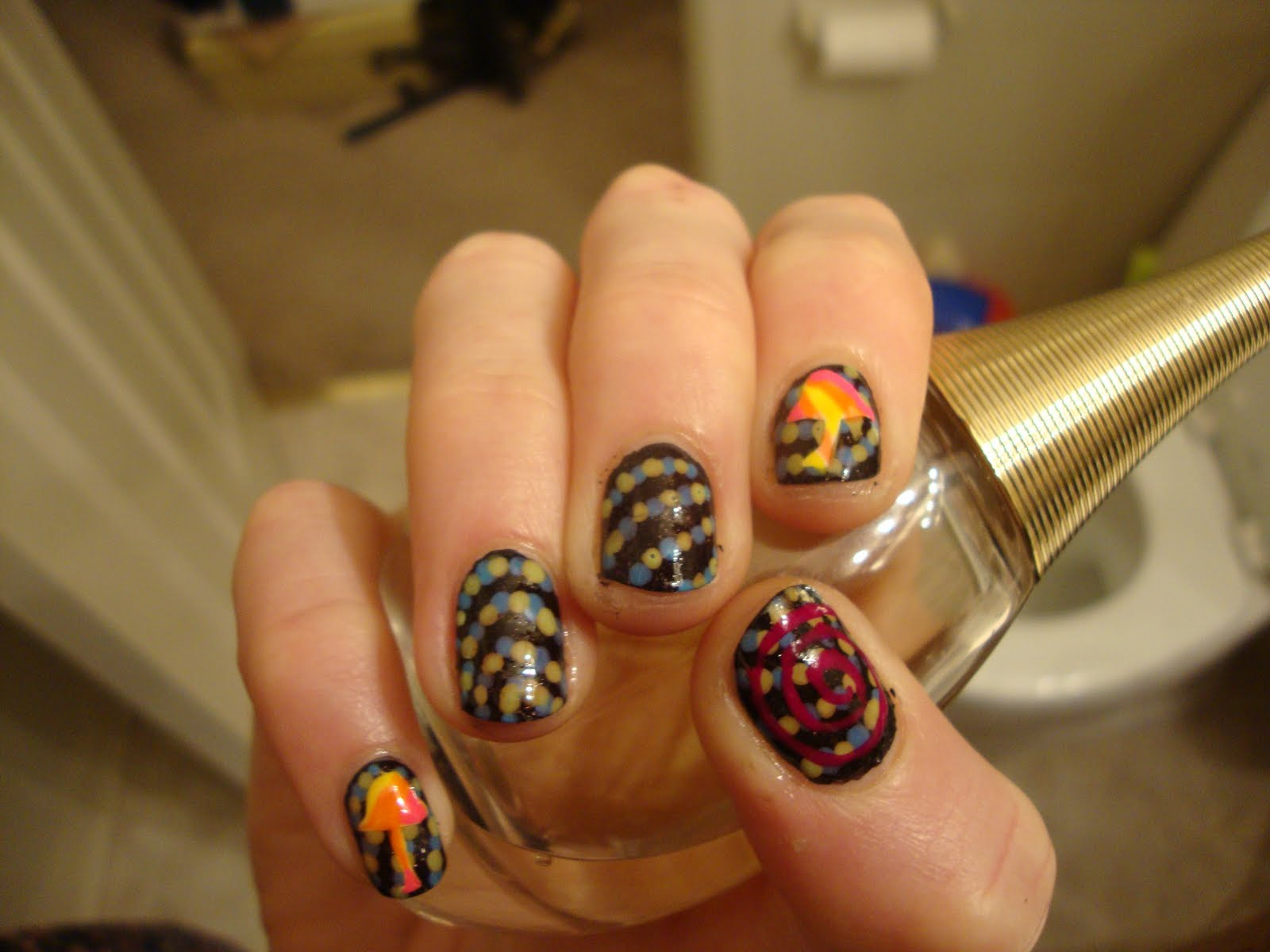 The Exciting Zebra nail designs black and white Pics