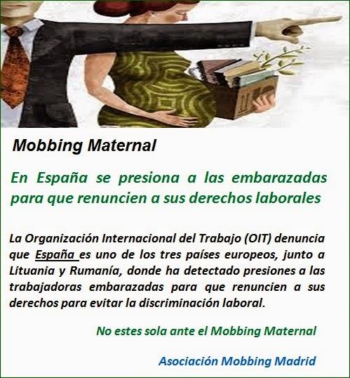 Mobbing: En España se presiona a las embarazadas para que renuncien a sus derechos laborales