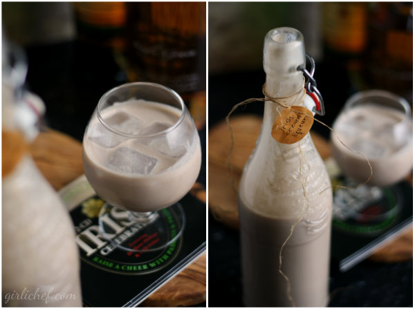 girlichef: Homemade Irish Cream Liqueur {I'll Drink to That}