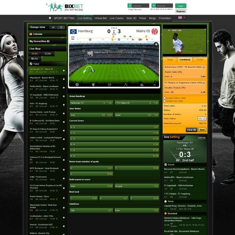 Bixbet Live Betting Offers