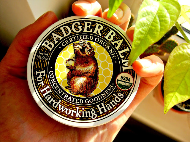the badger company Badger Balm For Hardworking Hands review