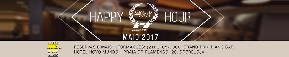 HAPPY HOUR - HOTEL NOVO MUNDO