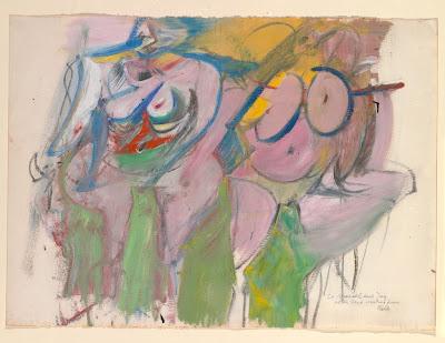 Willem de Kooning - deux femmes,1953.