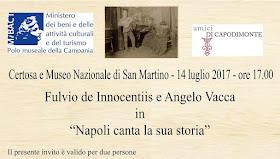 Fulvio de Innocentiis alla Certosa di San Martino