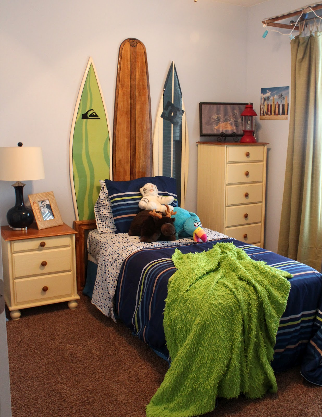 Cute Surf Room For Little Boys