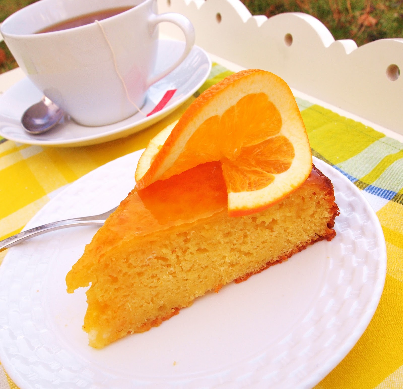 The Alchemist: Orange Olive Oil Cake
