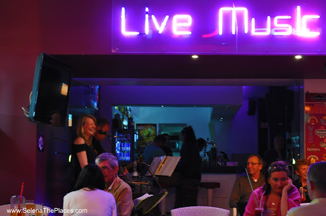 Live Music Old Town Albufeira Algarve Portugal