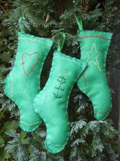 Botas Verdes, Decoración Navideña