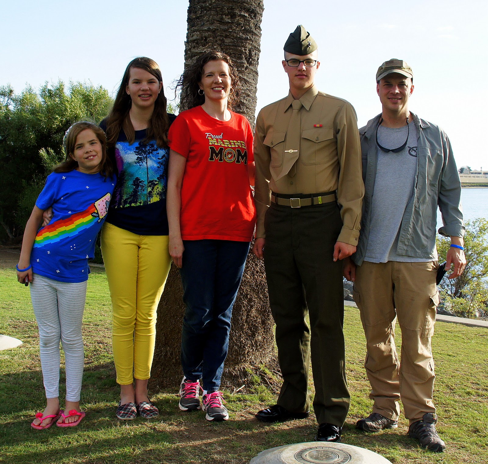 mountains rule garretts marine corps boot camp graduation