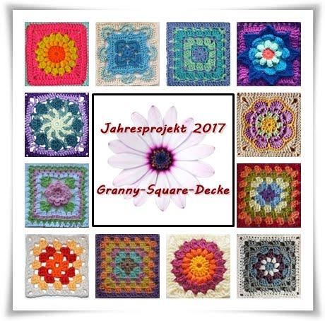 Granny-Square-Decke