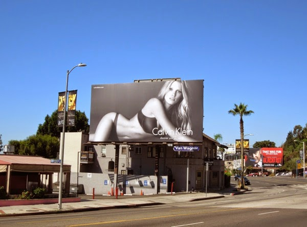 Calvin Klein discover your perfect fit billboard