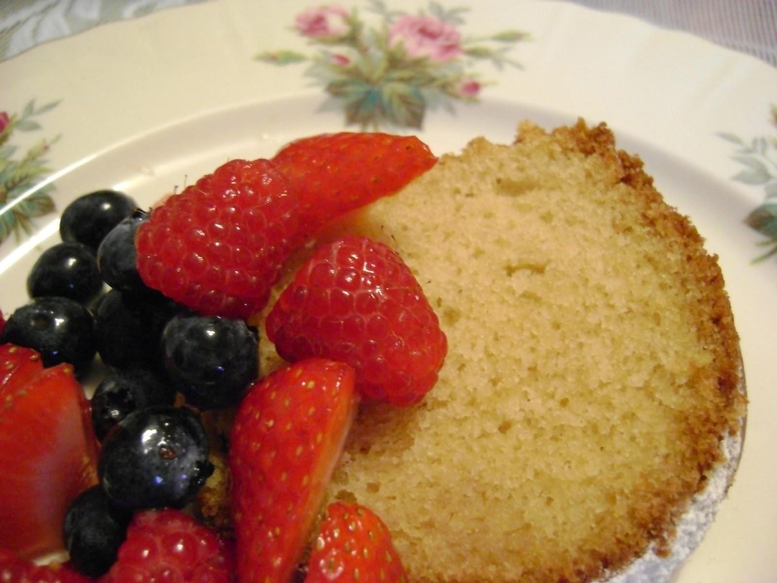Garlic And Sapphires Vanilla Cake Recipe