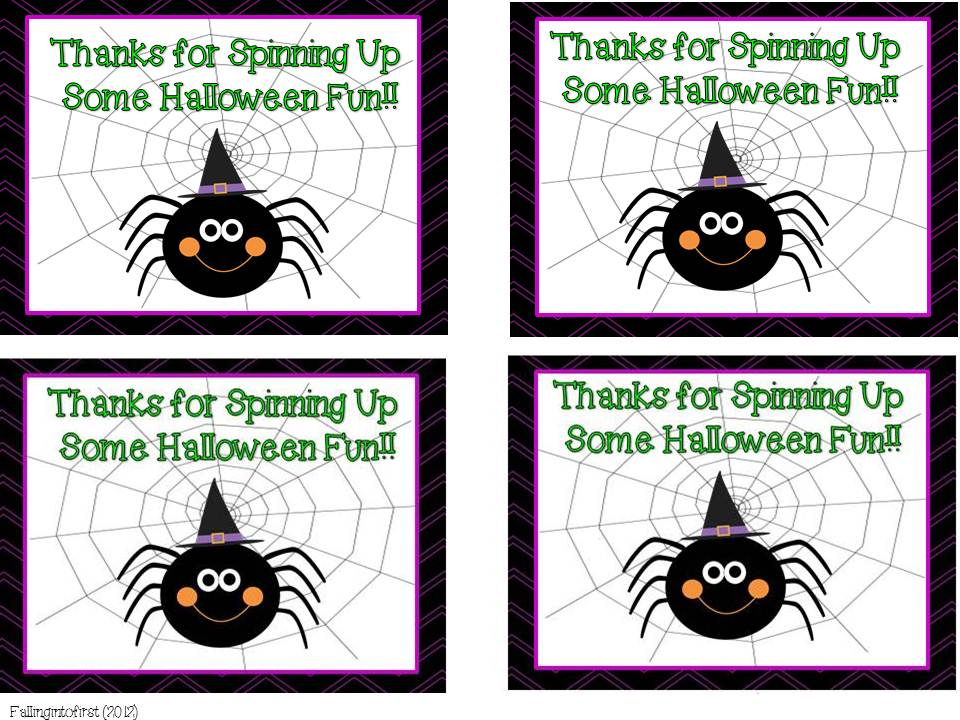 halloween thank you cards