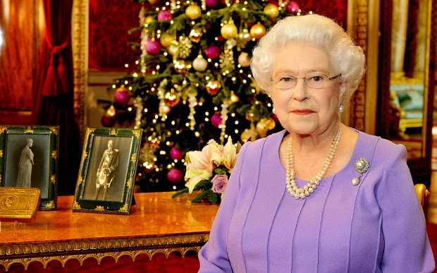 Queen Elizabeth Christmas Day message