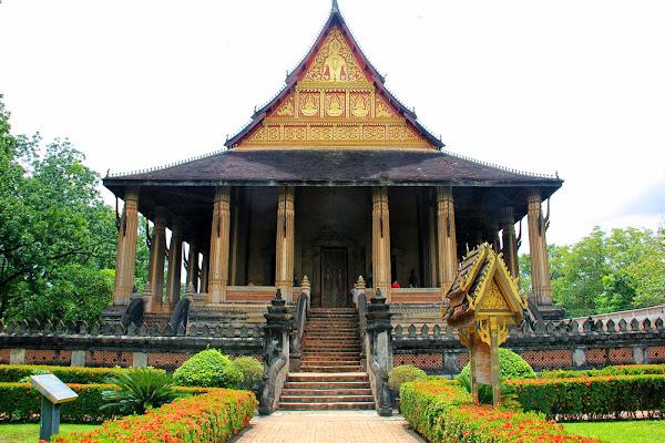 Haw Pha Kaeo em Vientiane