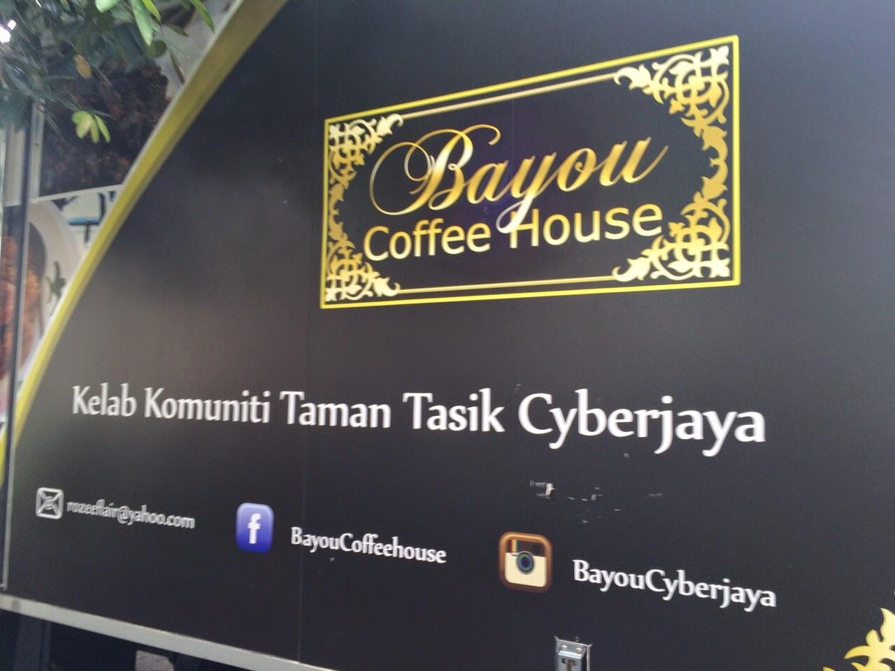 SELERA KAMPUNG DI BAYOU COFFEE HOUSE