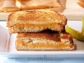 The Ultimate Vegan Grilled Cheese Sandwich.