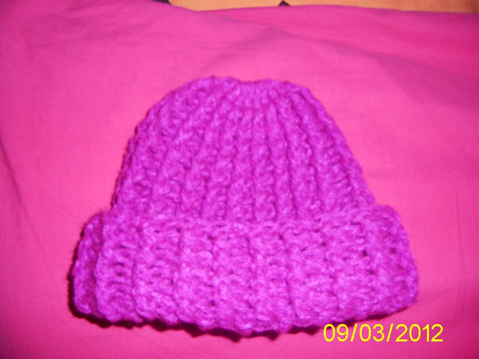 LENTEJUELAS DE COLORES: Gorro a Crochet
