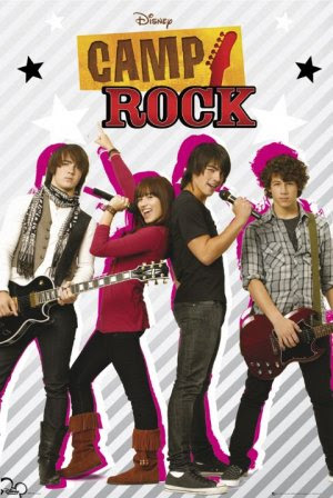 Poster Of Camp Rock In Dual Audio Hindi English 300MB Compressed Small Size Pc Movie Free Download Only At instagramtr.net