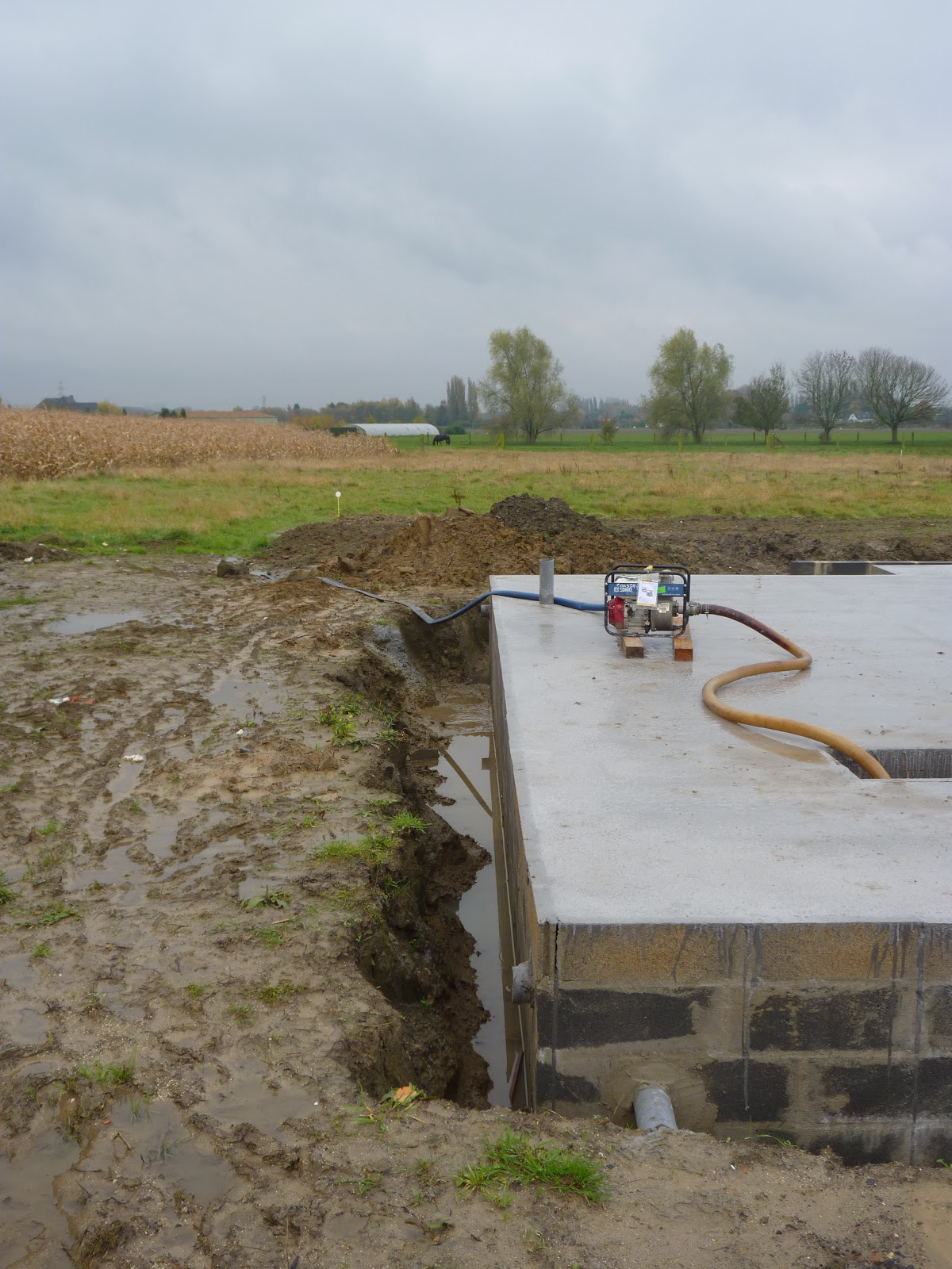 Notre maison en bois verlinghem evacuation des eaux du vide sanitaire - Vide sanitaire inonde ...