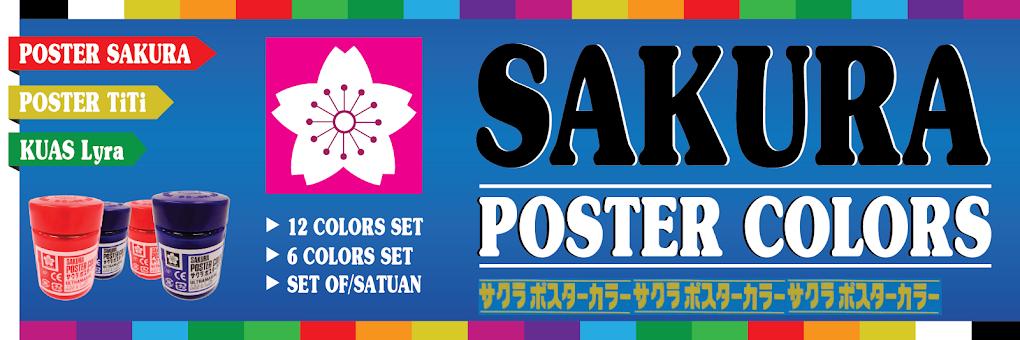 Cat Poster SAKURA dan TITI...