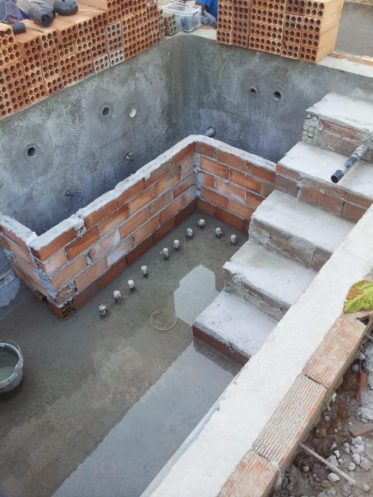 Como se hace una piscina de obra awesome piscina de obra - Como se hace una piscina ...