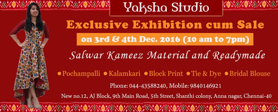 Kalamkari and Pochampalli Exhibition in Chennai