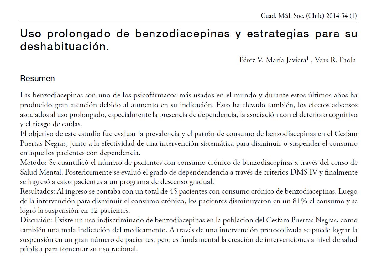 https://es.scribd.com/doc/247857782/Uso-prolongado-de-benzodiacepinas-y-su-descontinuacion-pdf