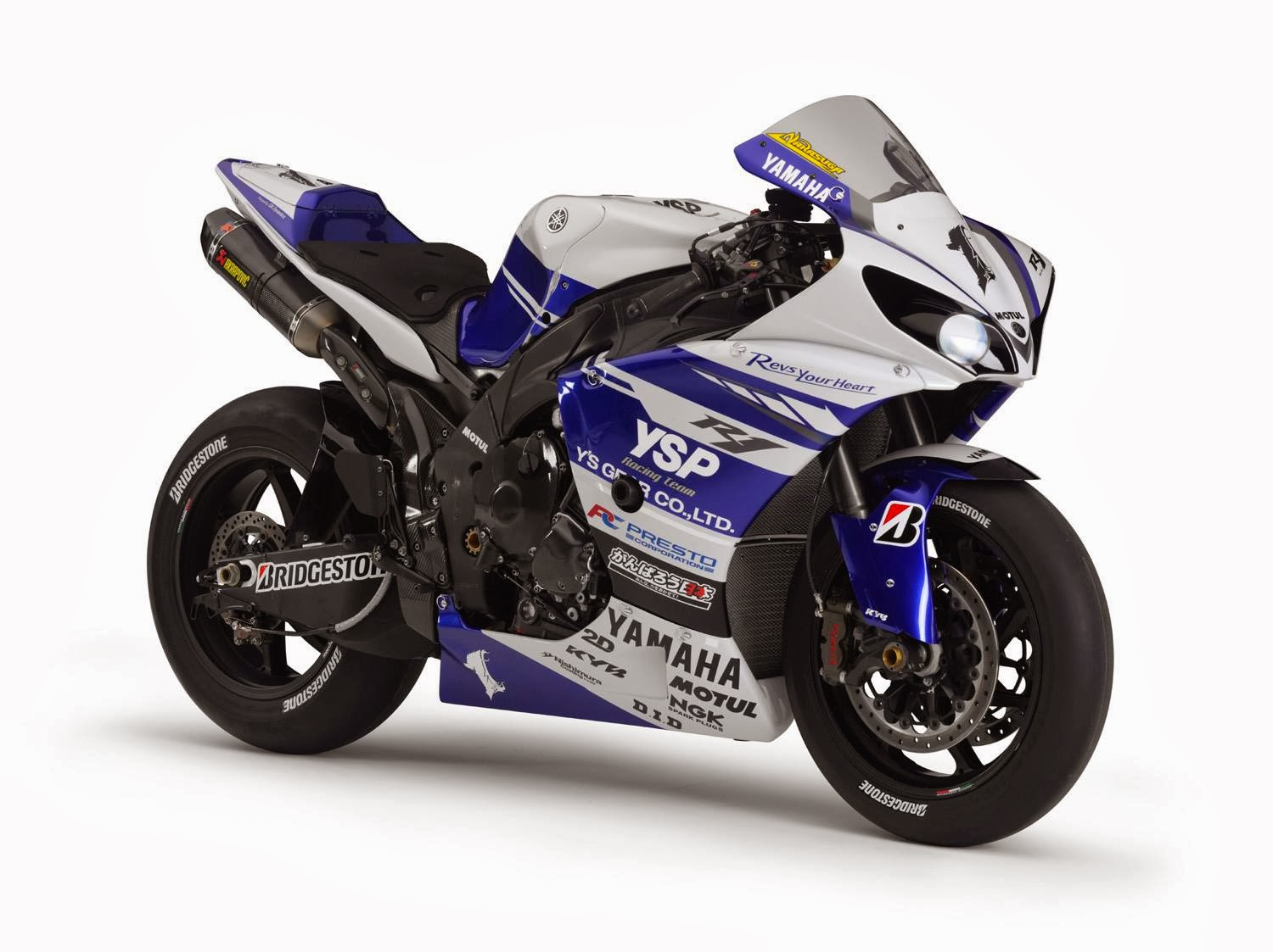 Planet Japan Blog: All Japan Superbike - Yamaha YZF-R1 K