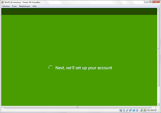 setting your account in Windows 8 (Green)
